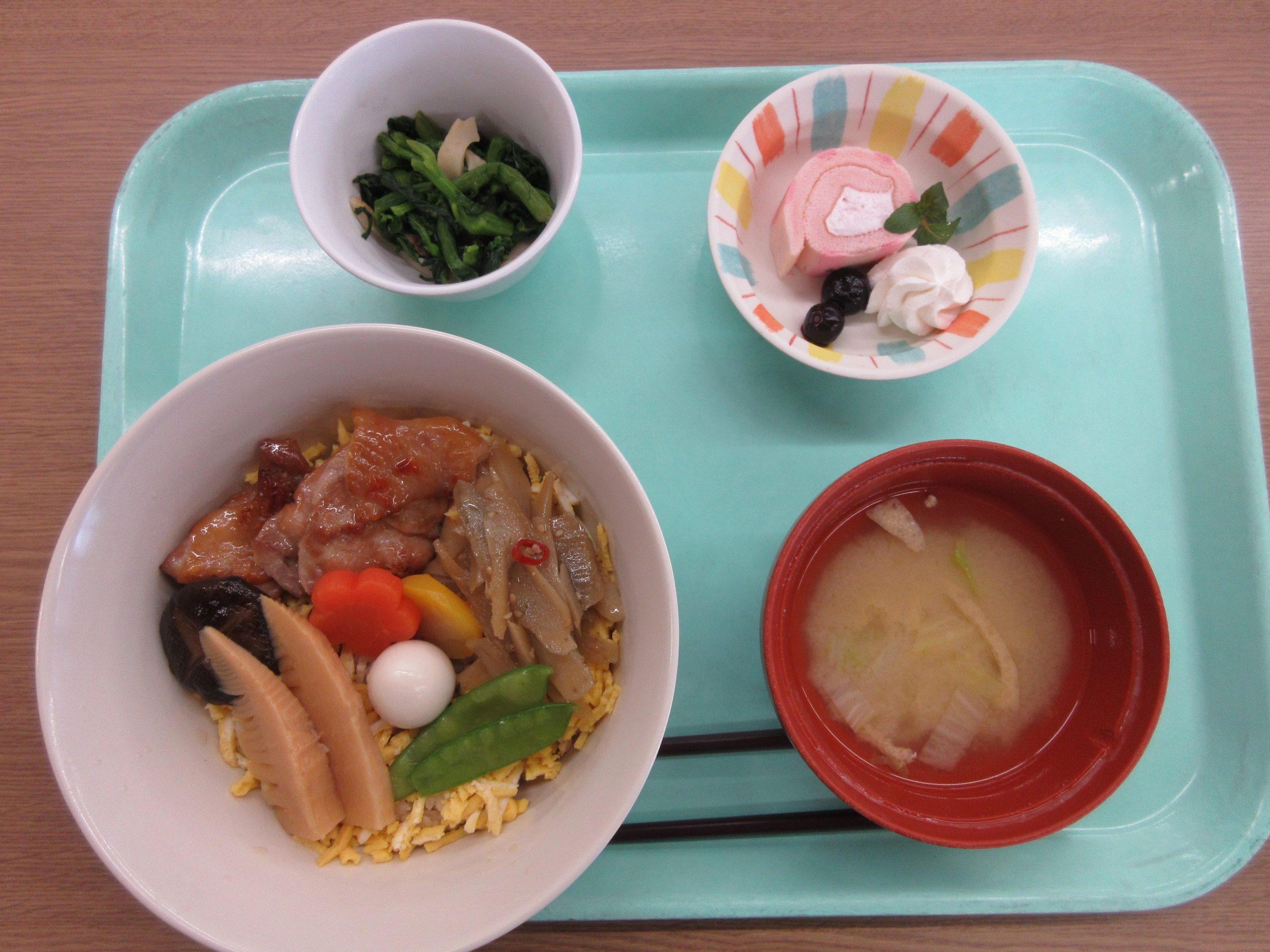 お楽しみ食開催!:エイト