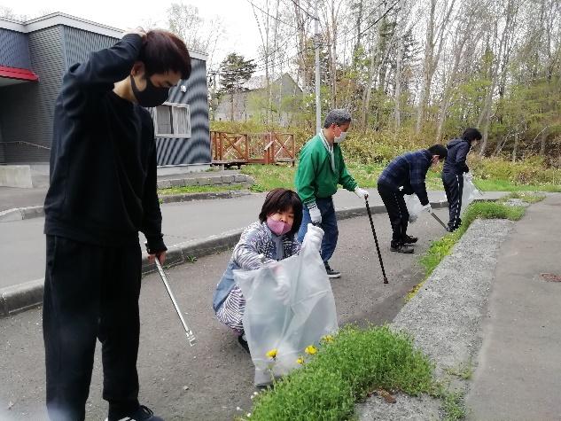 西の里広栄・中央町内会清掃:エルフィンホーム
